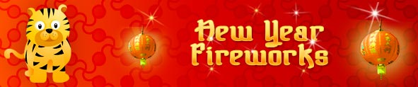 Chinese New Year Celebration With Chinese New Year Fireworks Cards And Free Greetings And eCards From meme4u.com