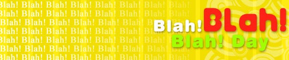 Blah Blah Blah Day | Funny Cards | Greeting Cards | Free Ecards
