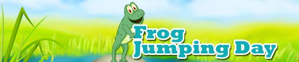 Frog Jumping Day | Frog Jumping Day Ecards | Frog Jumping Day Cards | Frog Jumping Day Greeting Cards