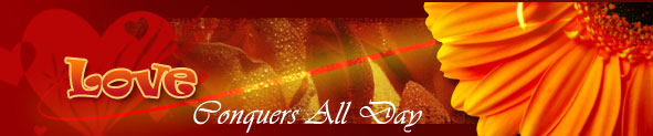 Love Conquer All Day Cards | Love Conquer All Day Ecards | Love Conquer All Day Greeting Cards
