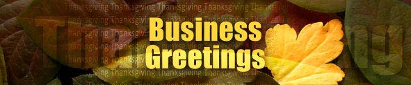 Thanksgiving Business Greetings | Thanksgiving Corporate Cards | Corporate Thanksgiving Ecards | Thanksgiving Business Cards