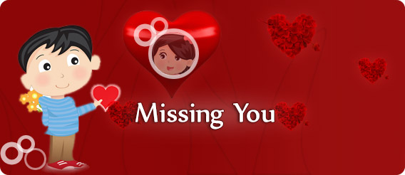Valentine's Day Missing You Cards, Valentine's Day Missing You Ecards